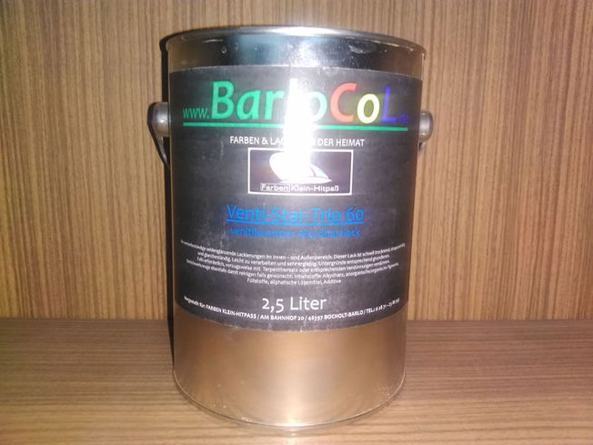 BarloCol Venti-Star-Trio 60 / 750 ml